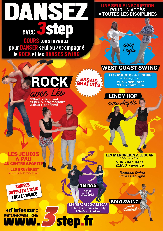 Rock et Danses swing