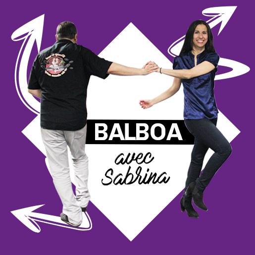 Balboa les mercredis soirs avec Sabrina à Lescar